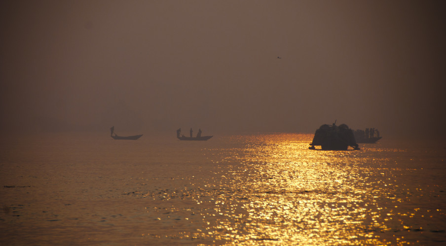 Glorious Bangladesh at sunset. Photo: Katie Musgrave